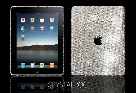 Swarovski-studded iPad by CrystalRoc