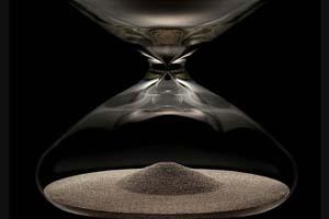 Ikepod Hourglass by Marc Newson