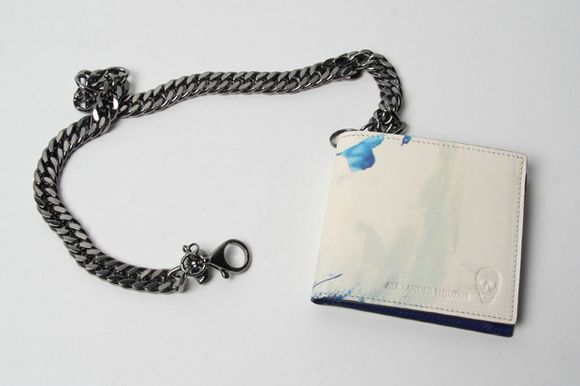 Alexander McQueen Card Holder and Leather Wallet