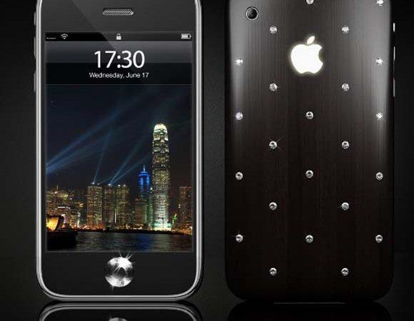 iPhone 3GS Moon Protuberance