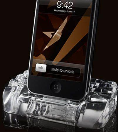 Calypso Crystal iPhone Dock