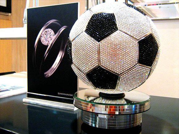 $2.5 million Diamond Soccer Ball by Shimansky