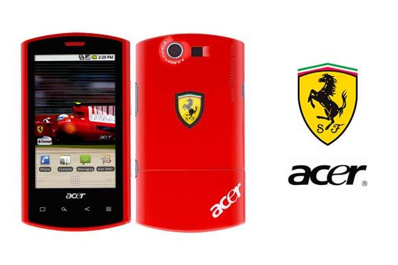Acer Liquid E Ferrari Special Edition Smartphone