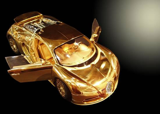 $2.9 million Bugatti Veyron Diamond Edition Scale Model