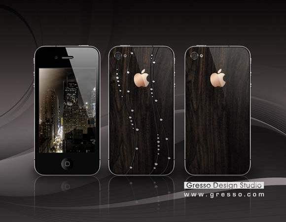 iPhone 4 Luxurious Case by Gresso