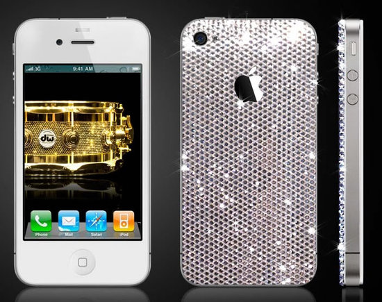 iPhone 4 studded in Swarovski by CrystalRoc