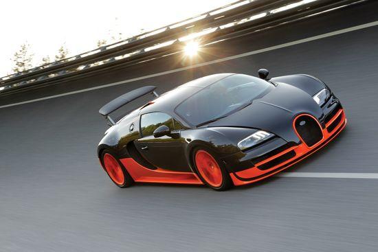 World's Fastest Car: Bugatti Veyron 16.4 Super Sport