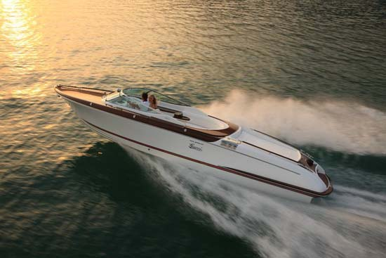 """Frida Giannini shared, """"Over the decades the iconic Riva boat has become ..."""