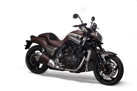 Hermes and Yamaha team up for V-Max concept bike
