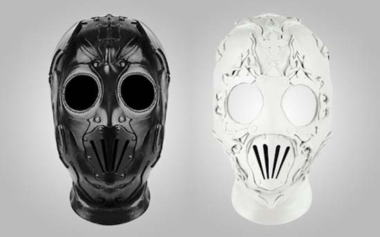 Givenchy Leather Masks from Spring 2011 Accessories