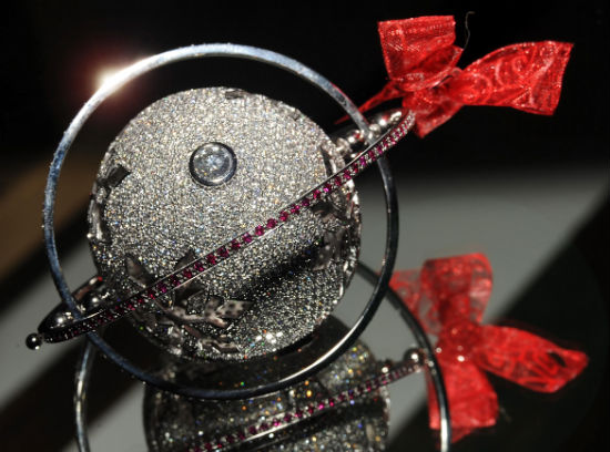 World's Most Expensive Christmas Bauble on sale for charity