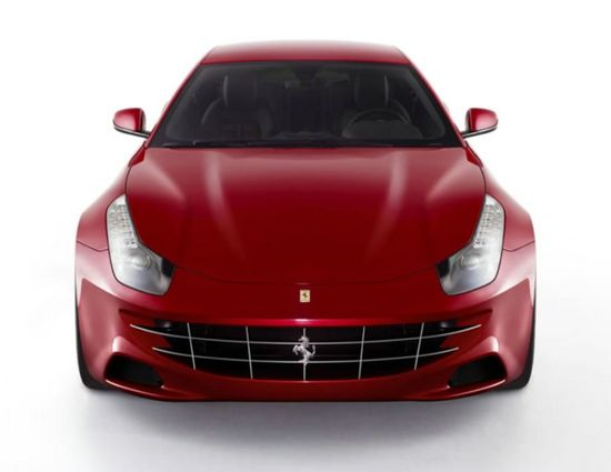 Ferrari FF: Four Wheel Drive, Four Seats