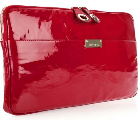 Jimmy Choo Red Laptop Case