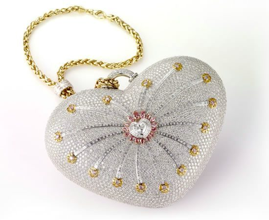 $3.8 million Mouawad 1001 Nights Diamond Purse