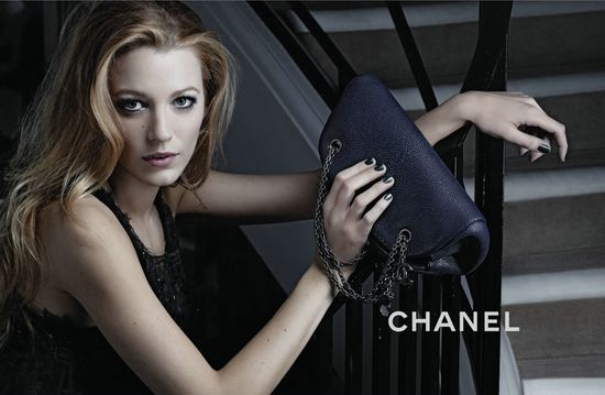 Blake Lively for Chanel Mademoiselle Handbag Line