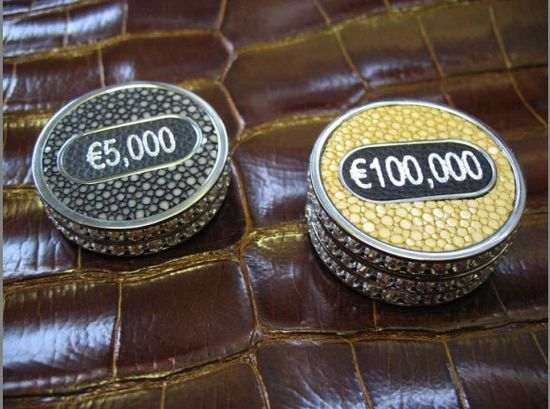 $7.5 Million for the World's Most Expensive Poker Set