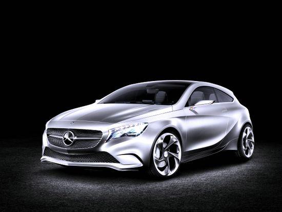 First Look: 2012 Mercedes-Benz A-Class Concept