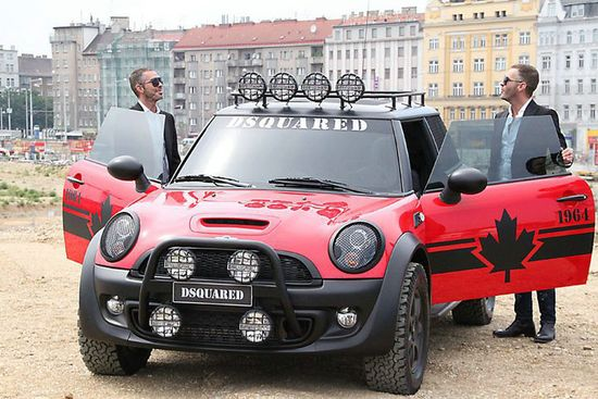 Mini Hatch Dressed Up By Dsquared2
