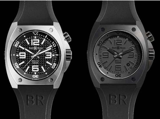 Bell & Ross BR02 Steel and BR02 Phantom Divers