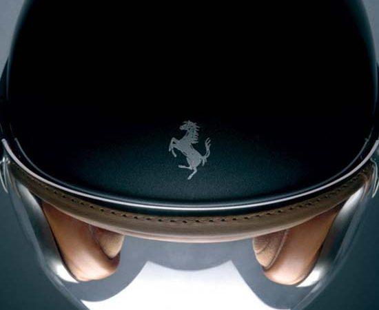 Ferrari Motorcycle Helmet by NewMax