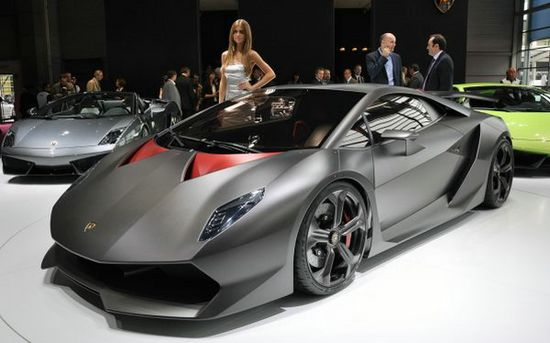 World's most expensive car: $2.92m Lamborghini Sesto Elemento