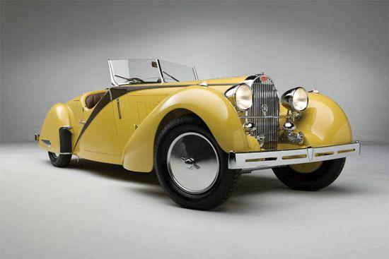 1935 Bugatti Type 57 Grand Raid Roadsterby Carrosserie Worblaufen