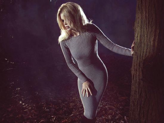 Claudia Schiffer for Cashmere Fall/Winter 2011