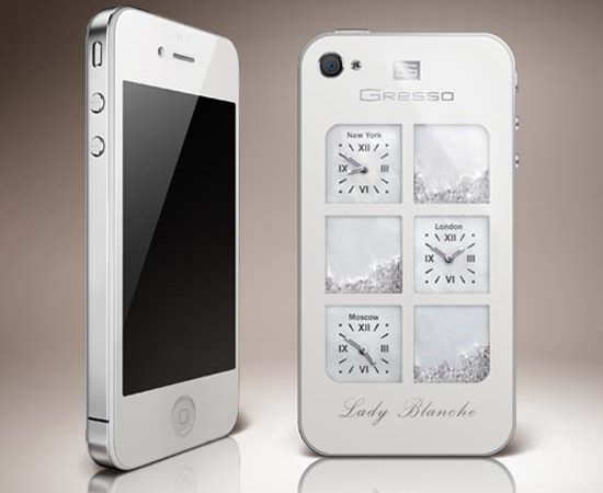 $30,000 iPhone4 Lady Blanche by Gresso