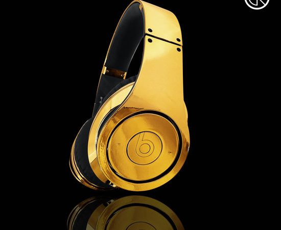 24ct Gold Plated Dr Dre Beats Studio Headphones