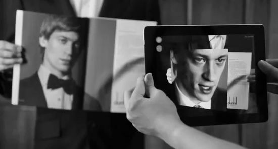Dunhill Launch Luxury Augmented Reality