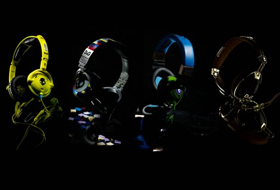 Limited Edition Skullcandy Headphones by D&G