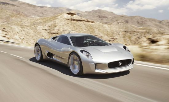 Jaguar C-X75 Inspirations and Icons by Dunhill