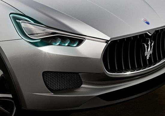Maserati Reveals Luxury SUV Kubang