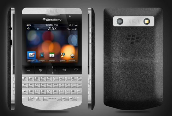 Luxury BlackBerry designed by Porsche