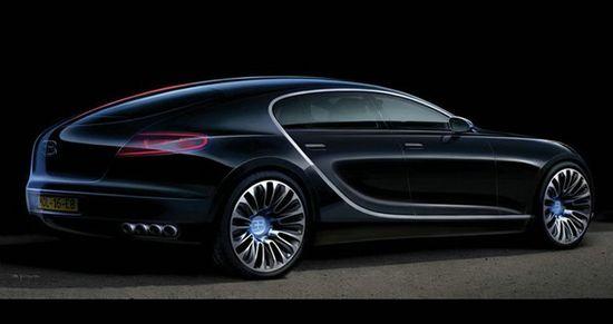 bugatti 16c galibier in black luxuryes. Black Bedroom Furniture Sets. Home Design Ideas