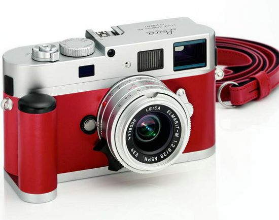 Leica M9-P Red Leather Limited Edition