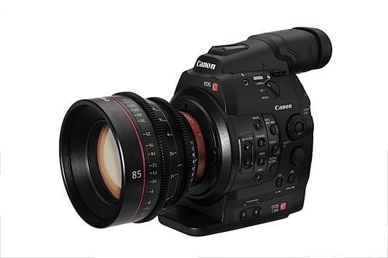 Canon C300 Cinema Camera