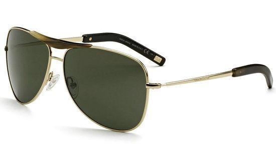 Giorgio Armani's 22-karat Gold Aviator Sunglasses