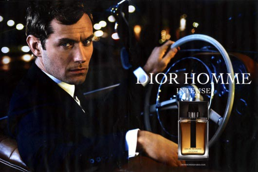 Jude Law For Dior Homme Intense Fragrance