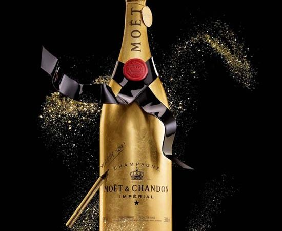 Moët & Chandon Unveils the Golden Premium Jeroboam