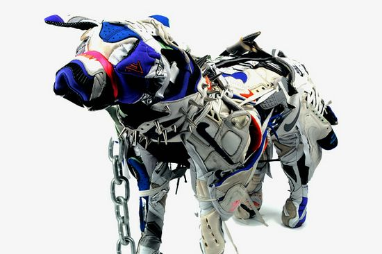 Nike Dog Sculptures By Vinti Andrews