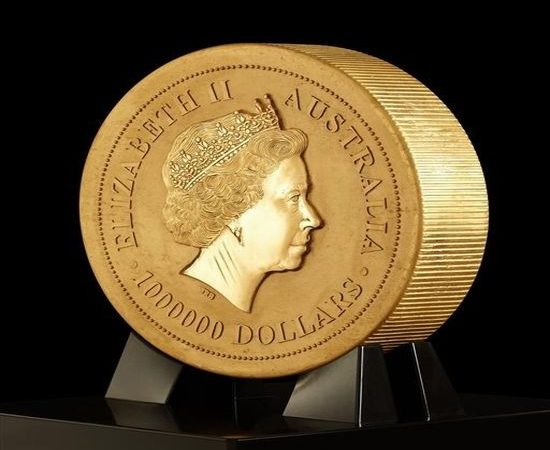 World's Biggest Gold Coin