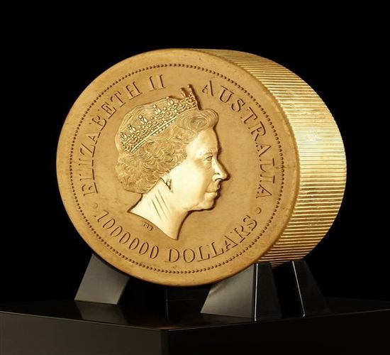 World S Biggest Gold Coin Made At Perth Mint Australia