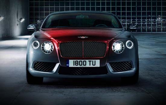 Bentley Continental V8 Launch Film