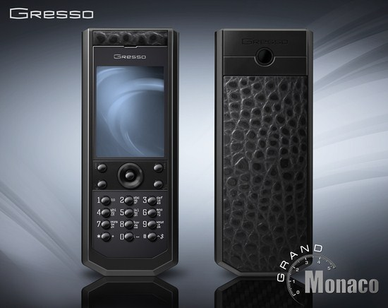 Gresso Unveils The Pure Black Phone