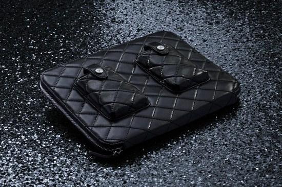 Chanel Lambskin iPad Case