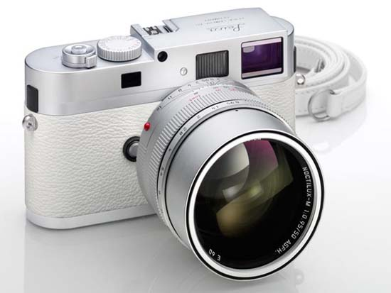 Leica M9-P Limited Edition Camera in White