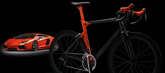 Lamborghini x BMC Limited Edition Road Bicycle