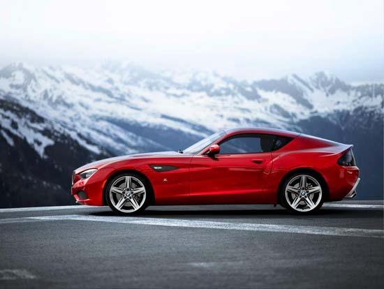 BMW Zagato Coupe Revealed