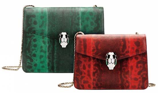 Bulgari Serpenti Leather Goods Collection